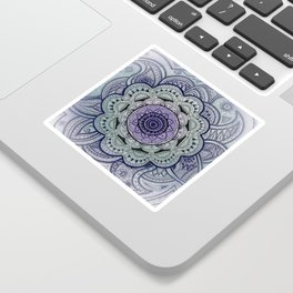 Mandala Violet Sticker