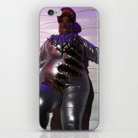 minaj iPhone & iPod Skins featuring Oooo Drag on by Emily Lomax