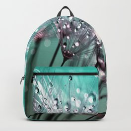 Dandelion Blue Diamonds Backpack