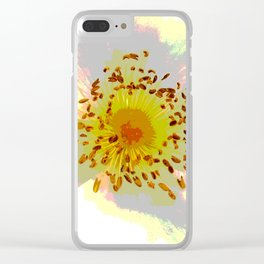 Rosehip Clear iPhone Case