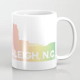 Raleigh Skyline Coffee Mug