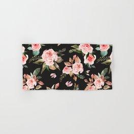 Pink flowering in the dark I Hand & Bath Towel