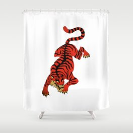 The Flash Shower Curtains