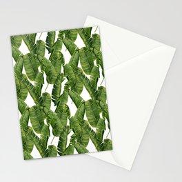 Banana leafs Stationery Cards