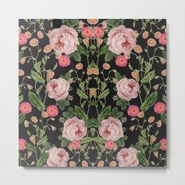 Floral Tunes Metal Print