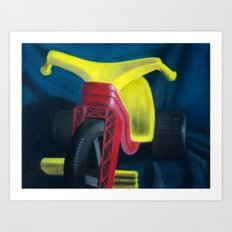 Big Wheel Art Print