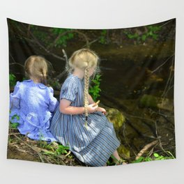 Cookies by the Creek Wall Tapestry