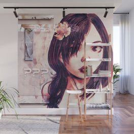 Unknown Girl Wall Mural