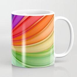 Abstract Rainbow Background Coffee Mug