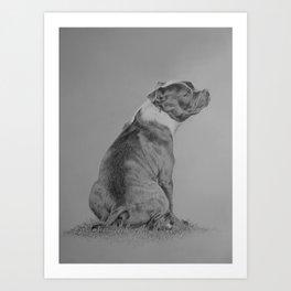 Millie Art Print