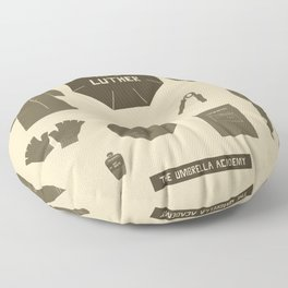 no.1 luther Floor Pillow