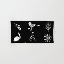 Cute Winter Pattern Hand & Bath Towel