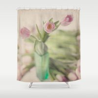 romance Shower Curtains featuring Romance by Kim Bajorek