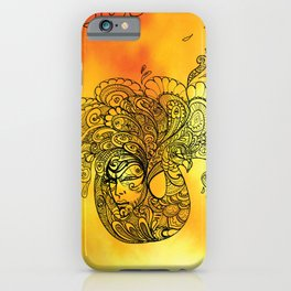 PEACOCKS CAN FLY iPhone Case