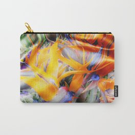 Fantasy Bird of Paradise by Artist McKenzie (www.McKenzieartstudio.com) Carry-All Pouch