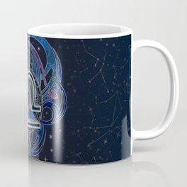 Libra Zodiac Sign Air Element Coffee Mug