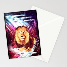 Space Lion - for iphone Stationery Cards