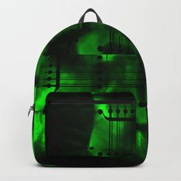 Night Spin Green Backpack