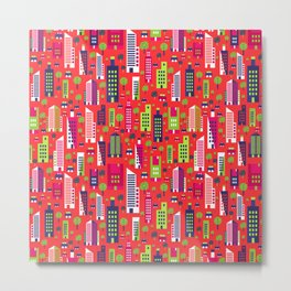 City of Colors Metal Print