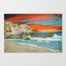 HAPPY SEASCAPE Canvas Print