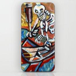 Skull Boat iPhone Skin