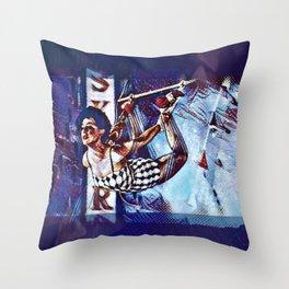 Sky Dancer Throw Pillow