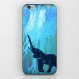 Elephant Joy iPhone Skin