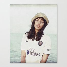 Fly Pirates Canvas Print