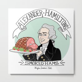Alexander's Smoked Hams Metal Print