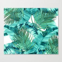 Tropics jungle wall tapestry Canvas Print