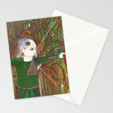 Red Kite Archer Stationery Cards