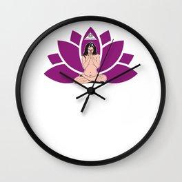 YogaLoto Wall Clock