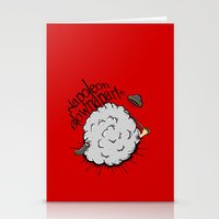 napoleon Stationery Cards featuring Napoleon Blownaparte by Koenu