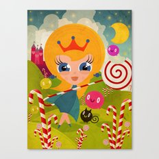 Caramel Princess Canvas Print