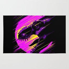 Rising T-Rex Rug