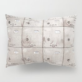Chests with numbers Pillow Sham