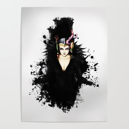 Edea Kramer FFVIII Poster
