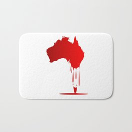 Australia Melting Down Bath Mat