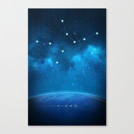 Virgo: Astrological Art Canvas Print