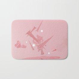 Voyage in Pink Bath Mat
