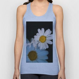 Close up daisy Unisex Tank Top