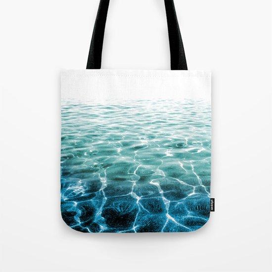 acqua azzurra acqua chiara Tote Bag