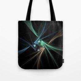 Fractal Convergence Tote Bag