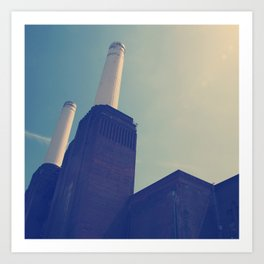 Battersea Power Station 1 Art Print