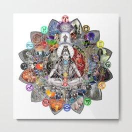 Uniting Dualities- We are the Balance Metal Print