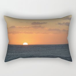 Sunset at Great Barrier Reef Rectangular Pillow