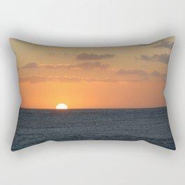 Sunset at Great Barrier Reef Rectangular Pillow