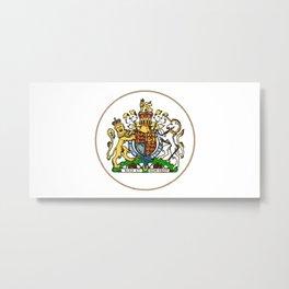 Royal Seal Metal Print