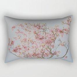Pink Magnolias Rectangular Pillow