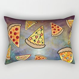 Space Pizza Orion Nebula  Rectangular Pillow
